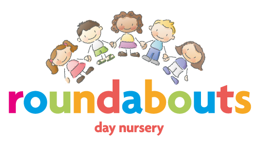 Roundabouts Day Nursery – Child Care Crewe Road, Willaston, Nantwich Cheshire Logo